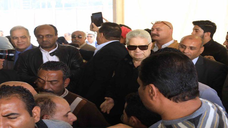 أقوى ألش على مرتضى منصور