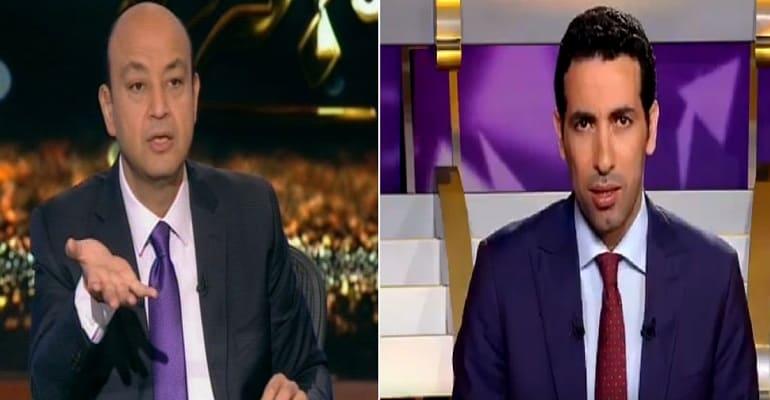 عمرو أديب يتهم أبوتريكة بالوقيعة بين محمد صلاح ويورجن كلوب